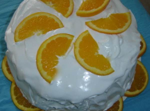 Sunshine Layer Cake Recipe