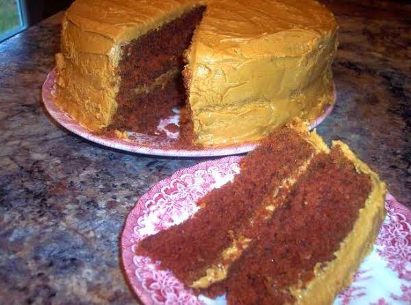 Old Fashioned Brown Mountain Cake