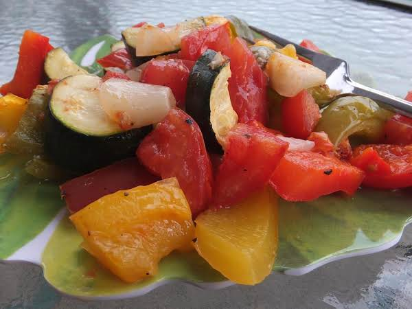 Baked Vegetables In Tomato Sauce Recipe