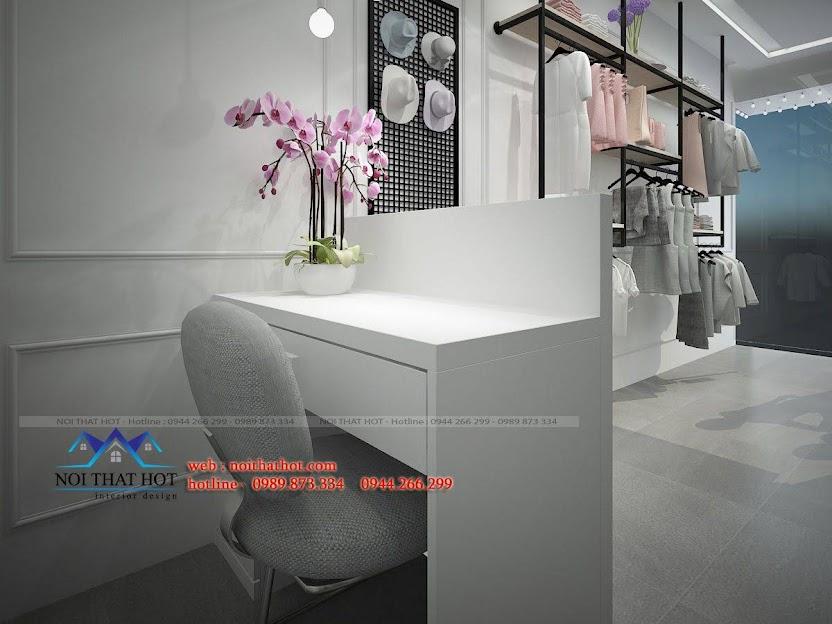 thiết kế shop thời trang L&M 6