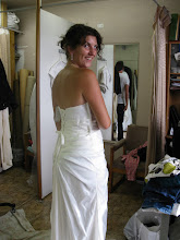 Photo: First dress fitting