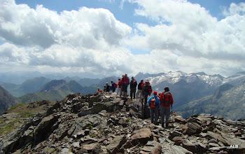 Photo: El descenso.