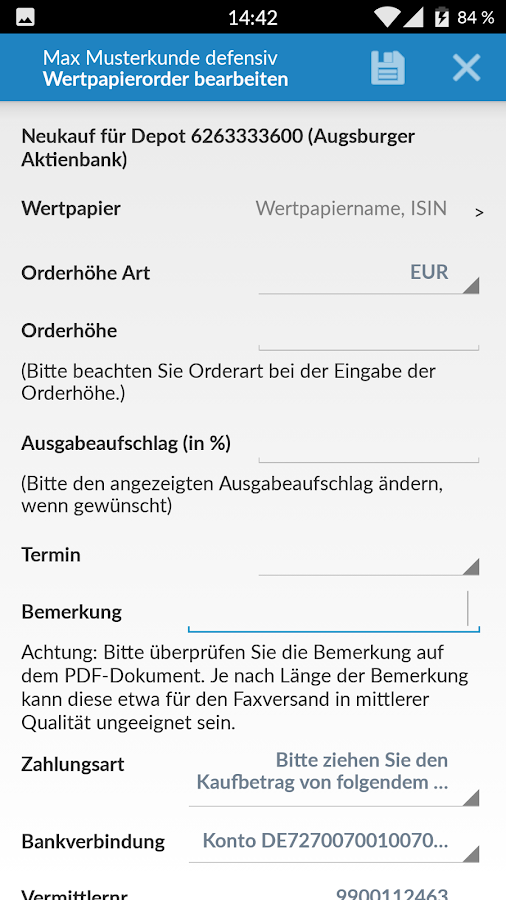 suk-Finanz – Screenshot