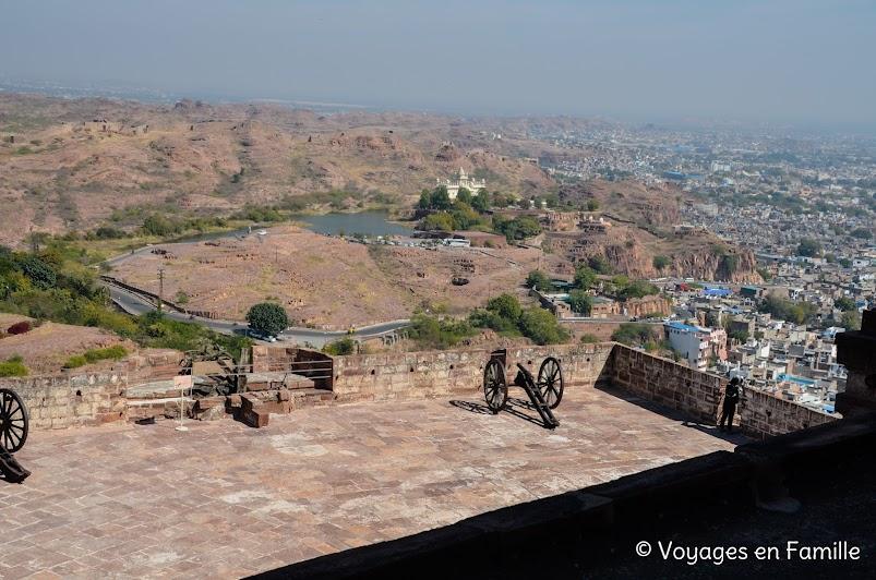 Vue sur le Jaswant Thada