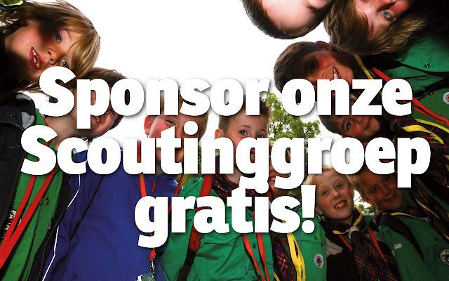 Scouting Den Hoorn Sponsorkliks