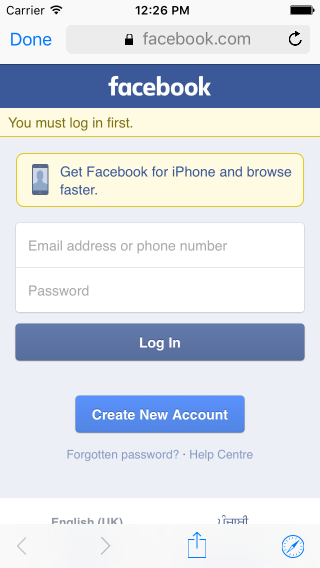 Facebook integration ios - TrinityTuts