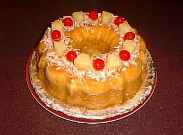 Pina Colada Cheese Custard Cake Recipe