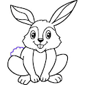 How to draw a bunny easy icon