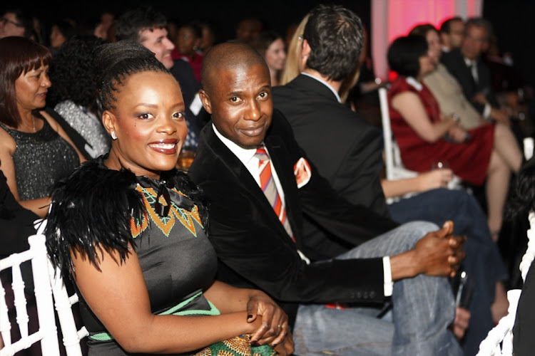 Nkhensani and Zam Nkosi at the Sunday Times Top Brands Awards held at Scarlet Ribbon in Edenvale, Johannesburg on 9 September 2010.