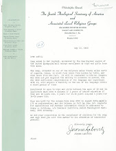 Photo: Letter about Ramah New England in Maine