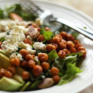Roasted Chickpea Salad with Lemon-Tahini Vinaigrette