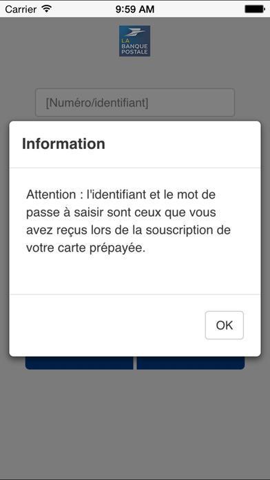 Connu Prépayé par la Banque Postale - Android Apps on Google Play CC55