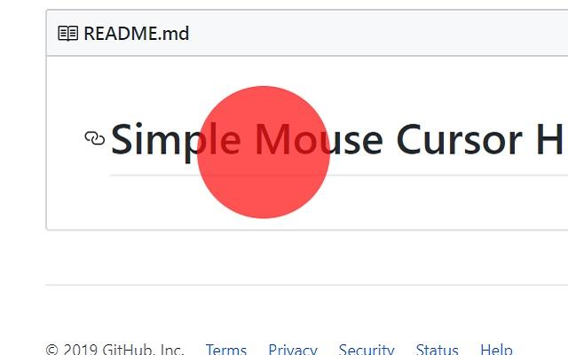 Mouse Pointer Highlighter