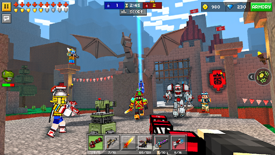 Pixel Gun 3D (Pocket Edition) 11.2.2 [Mod Money Level] Apk + Data