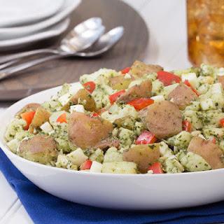 Pumped-Up Pesto Potato Salad.