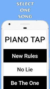 Piano Tap - Dua Lipa Free - náhled