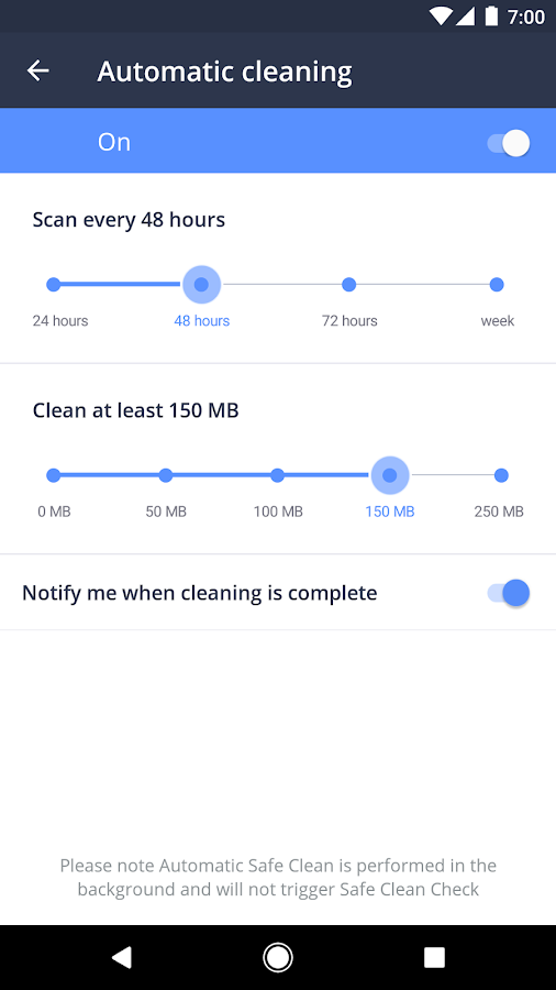 Avast Cleanup & Boost- screenshot