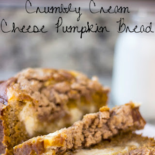 Crumbly Cream Cheese Pumpkin Bread