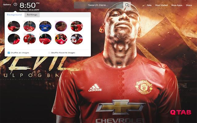 Paul Pogba Wallpapers HD Theme