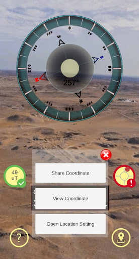 Gyro Compass 3D True North Finder with GPS Maps screenshot 3