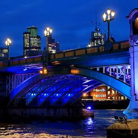 by Davor Kapetan - City,  Street & Park  Street Scenes ( bridge )
