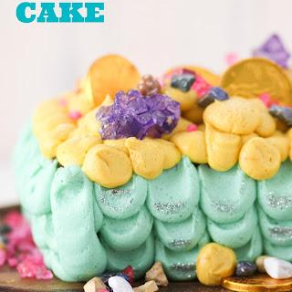 Mermaid Treasure Cake