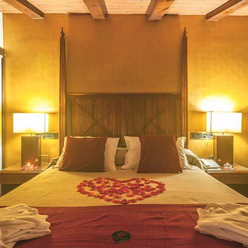 Programa enamoradas, habitación decoración romántica