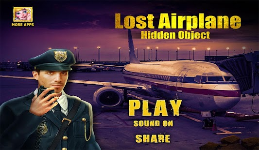 Lost Airplane Hidden Objects Games - náhled