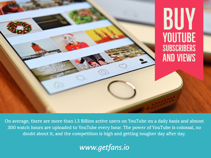 Buy Real Views on Youtube - Get Fans