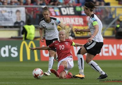 Eerste EK-finalist bekend na beklijvend duel, Lykke Petersen wordt dé strafschopheldin