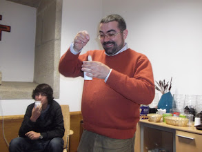 Photo: A pesca do chá.