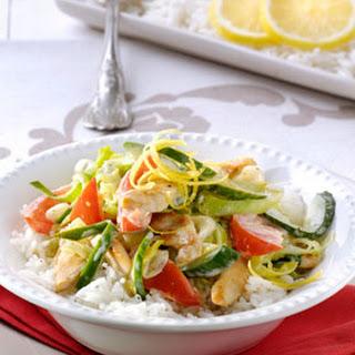 Curry Met Kip, Citroen En Gember