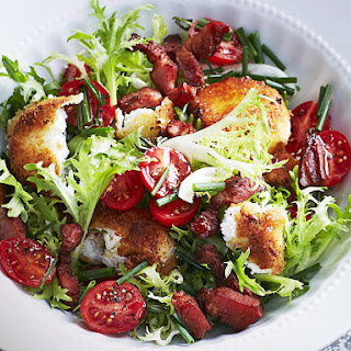 Fried Goat Cheese Salad.