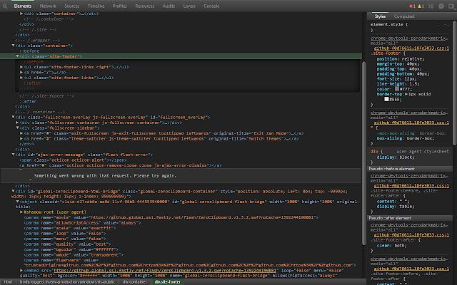 DevTools Theme: Zero Dark Matrix