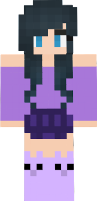 It's supposed to be Funneh in Aphmau's Clothes...