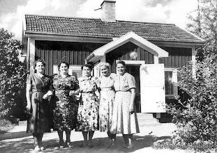 Photo: Björklund, Systrarna Andersson