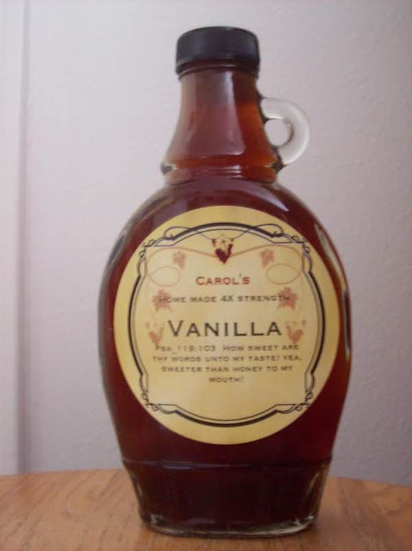 Real Vanilla Extract Recipe