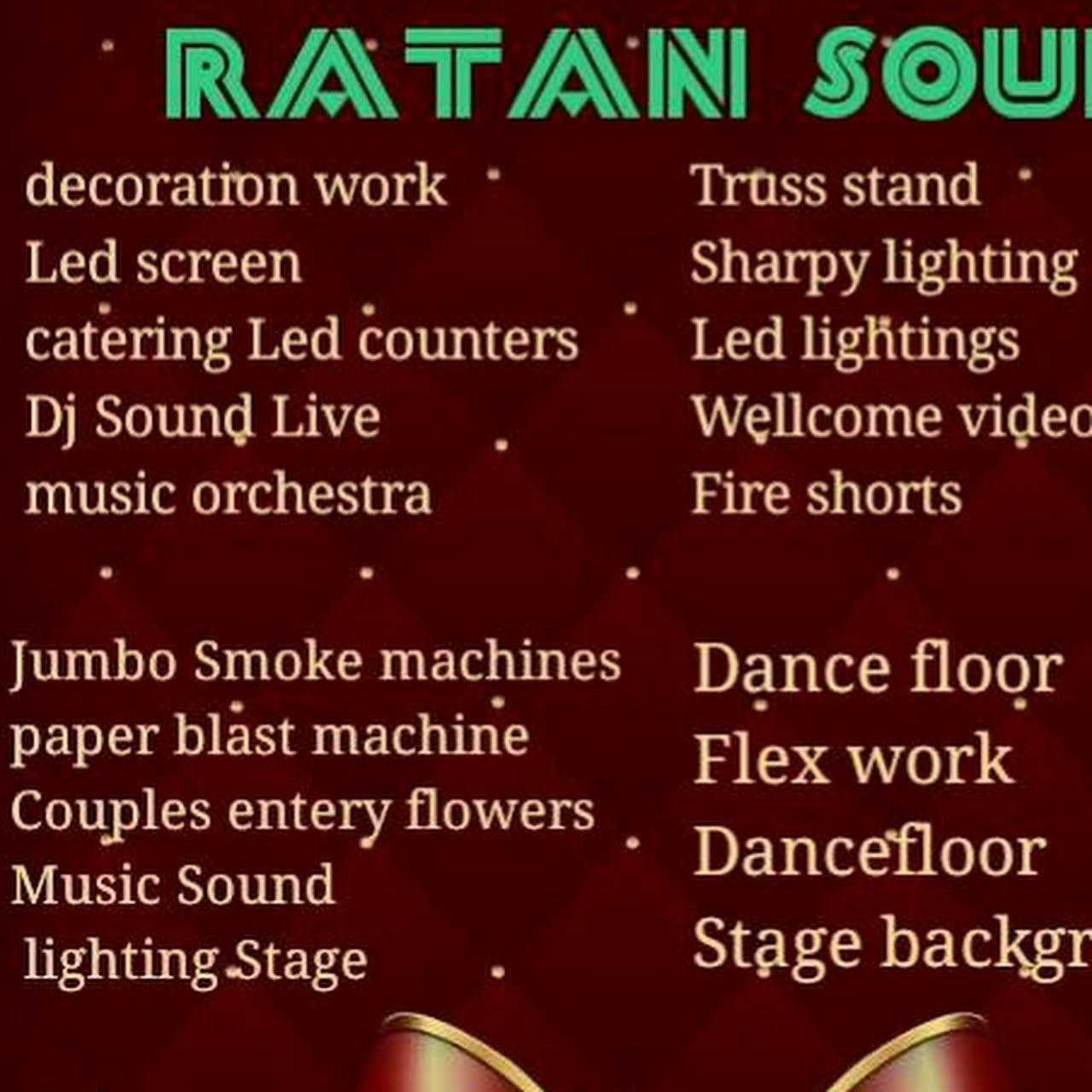 Best sound system & lighting Hyderabad make your dream true