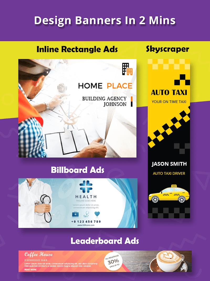 Banner Maker, Ad Maker, Web Banners, Graphic Art Screenshot 8