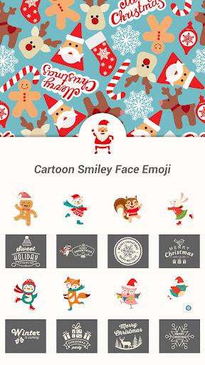 Christmas Emoji Sticker 2015