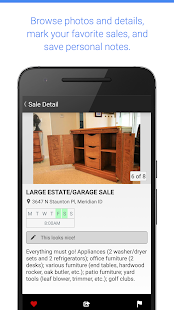 Garage Sale Map - gsalr.com- screenshot thumbnail