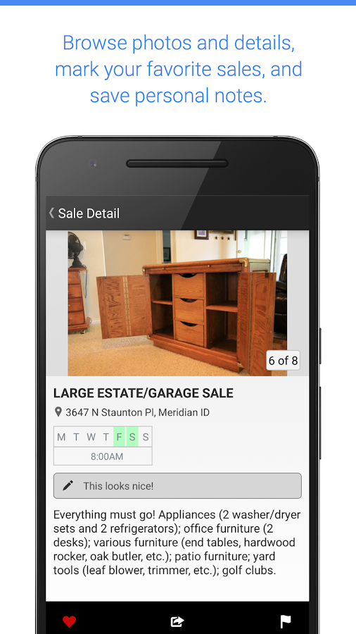 Garage Sale Map - gsalr.com- screenshot