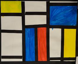 Photo: Piet Mondrian By Grade 1