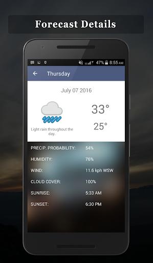 免費下載天氣APP|P.H Weather Forecast app開箱文|APP開箱王