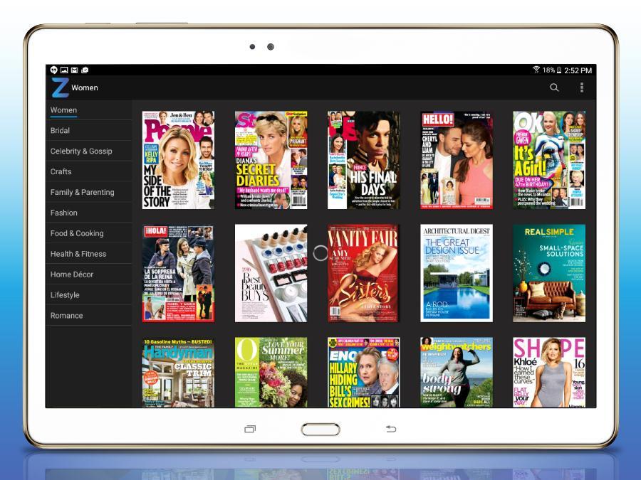 Zinio: 5000+ Digital Magazines screenshot #8