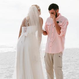 True Love by Autumn Wright - Wedding Ceremony ( bride, vows, groom, ceremony, beach, wedding )
