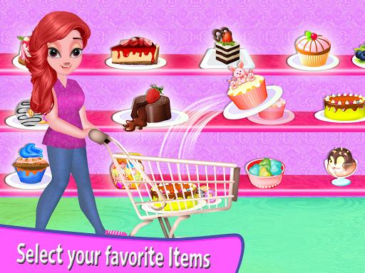 Girl Supermarket Shopping Mall Screenshot