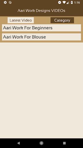 Aari Work Designs VIDEOs Apk Download 3