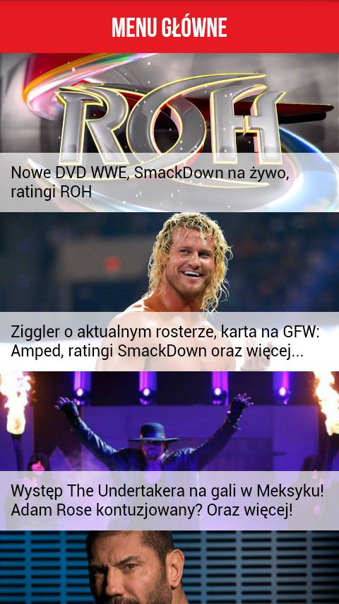 WrestlingNews- screenshot