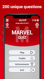 Marvel Trivia Game - Online Quizzes on Windows PC Download